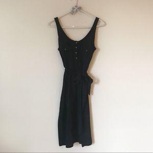 Old Navy Waist Tie Button Chest Pocket Dress